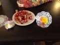 Kreativ mit Lebensmitteln